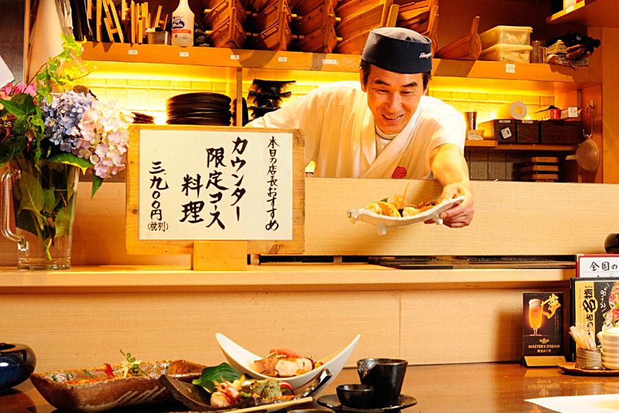 料理人の写真